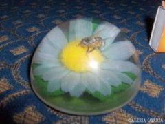 Méhecskés levélnehezék - nem üveg