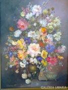Orsovai Valéria - virág csendélet