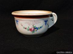 3911 Antik porcelán komabögre HIBÁTLAN