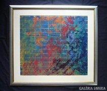 Sergio Valmir Bosa: WONDERFUL WORLD  65 X 59 cm