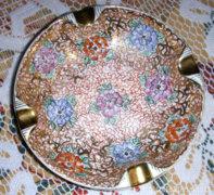 Antik kézzel festett Drasche porcelán