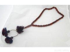 0978 Antik Buddhista mala imalánc 42 cm