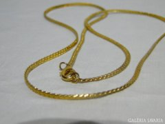 0924 Modern arany fémlánc női nyaklánc 70 cm