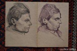 Két portré egy lapon