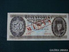 50 Forint minta 1989