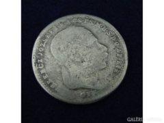 5889 Ferencz József 20 krajczár 1869