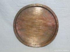6092 Antik konyhai eszköz pecsenye sütő tál
