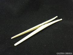 5937 Antik csont kesztyűtágító csipesz