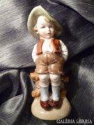 Bertram porcelán figura 20 cm