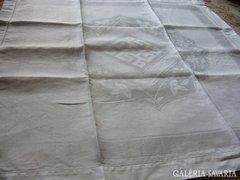 Nagy méretü ART DECO selyem damaszt szett 5 db-os