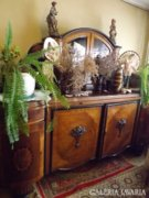 Antik ebédlő garnitúra - régi bútor