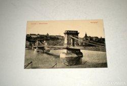 Régi képeslap - Lánchíd