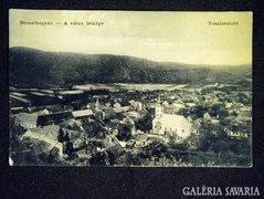 A057 Képeslap Németbogsán - A város látképe 1910