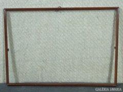 7831 Régi vágható keskeny képkeret 35 x 51 cm