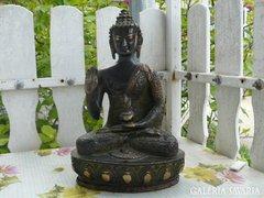 Antikolt sárgaréz indiai szobor (30cm) Alkudható!