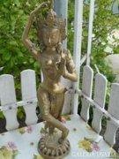 Sárgaréz indiai isten szobor (70cm) Alkudható!