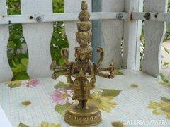 Sárgaréz indiai szobor (19cm) Alkudható!