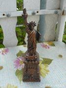 Fém Szabadság szobor (21cm) Alkdható