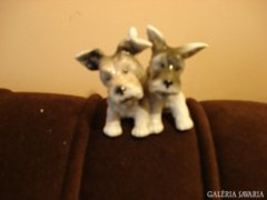 Unterweissbach porcelán kiskutyák