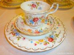 Royal Albert 12 szem. Angol Jubilee Rose teás/kávés/sütis
