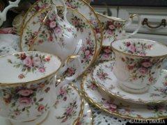 Royal Albert Cottage Garden 12szem. Angol teás/kávés/sütis!