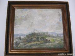 Magyar Mannheimer Gusztáv festmény eladó