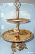 Francia empire asztalközép/aranyozott bronz
