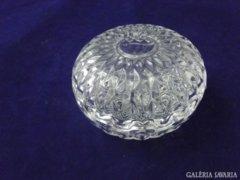 8501 Üveg ékszertartó bonbonier