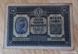1918 10 lira