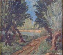 Magyar festő, XX. sz. második fele: Vízparton