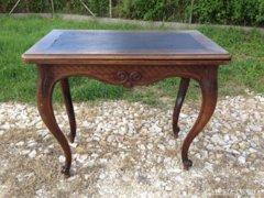 Antik Bécsibarokk játék asztal, kártya asztal