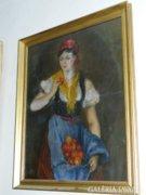 Szöllősi János - Nő almával