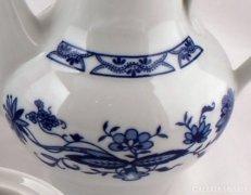 Meisseni jellegű porcelán kávés-teás készlet