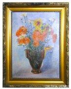 6751 Virágcsendélet vázában 30-as évekből