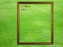 6772 Antik aranyozott keret fotókeret 44 x 54 cm