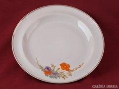 Hollóházi porcelán tányér, asztalközép