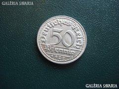 Német 50 pfennig