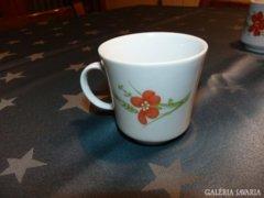 Retro jelzett kávés pohár
