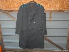 Régi rendőr egyenruha - hosszú kabát