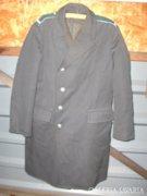 Régi rendőr egyenruha - hosszú kabát, köpeny