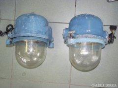 Ipari lámpa, Loft-design, 1950-es évek
