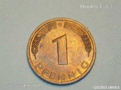 1 Pfennig (G) - Németország - 1991.