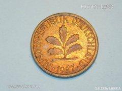 1 Pfennig (G) - Németország - 1987.