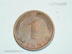 1 Pfennig (F) - Németország - 1991.