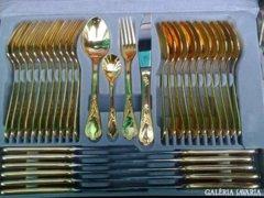 12 személyes evőeszközkészlet Barokk sitlusu