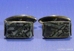 0A538 Antik ezüst mandzsetta gomb pár