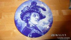 Csodás eredeti bosch delft Rembrandt tányér