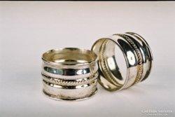 Szalvétagyűrű ezüst