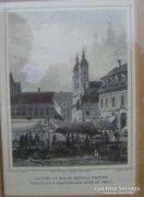 Pest, 19.sz. metszeten