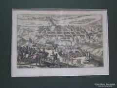 Mathias Merian (1593-1650): Frankfurt ostroma, rézkarc